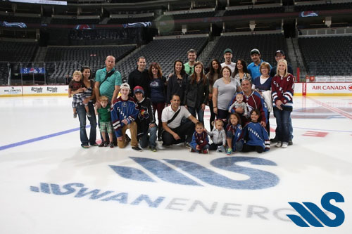 Swan Energy Announces Partnership with Colorado Avalanche